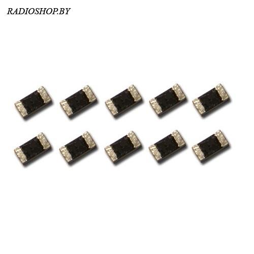 0402-0 ом 5% ЧИП-резистор 0,0625Вт (10шт.)
