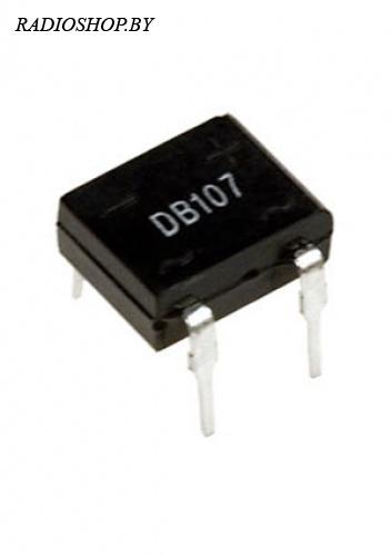 DB107  1A-1000v диодный мост