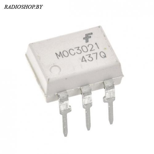 MOC3021M  dip-6 Оптопара