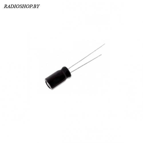 к50-35 4,7м 63в 4х7 105C mini  электролитический радиальный полярный