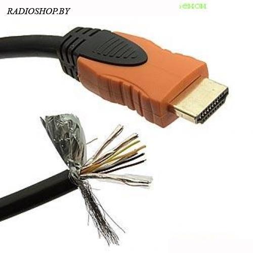 Кабель HDMI 10М с одиним разъемом