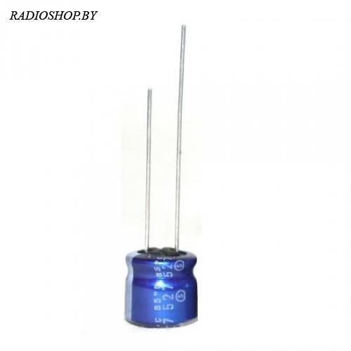 к50-35 220м 16в 8х8 mini электролитический радиальный полярный