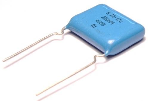 К73-17 0,22м 400в 20% конденсатор пленочный ОТЕЧЕСТВЕННЫЙ