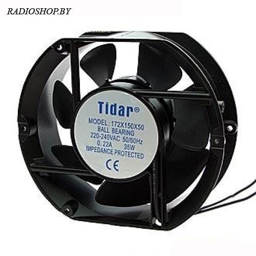 RQA 172x150x50HBL 220VAC вентилятор переменного тока