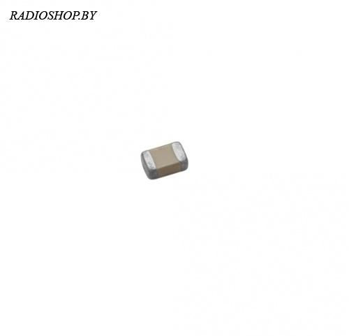 0603 820пф NPO 50в ЧИП-конденсатор керамический (50шт.)