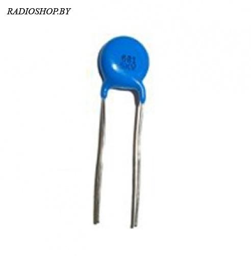 к15-5 680пф 2кв Y5P 10% конденсатор керамический высоковольтный