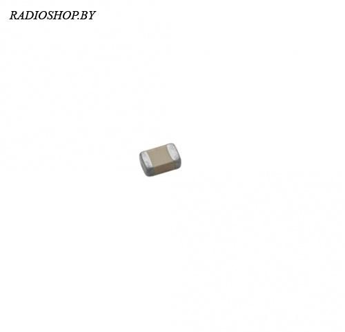 0402 82пф NPO 50в ЧИП-конденсатор керамический (100шт.)