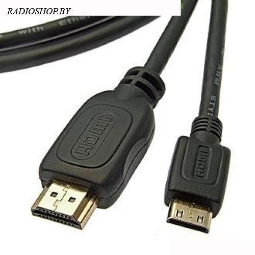 Mini-HDMI to HDMI 1.4v OFC 3m