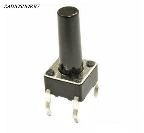 SWT-6х6;h=13мм,dip   кнопка тактовая