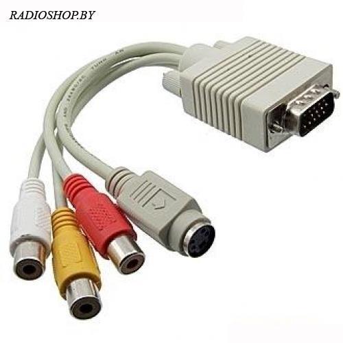 ML-A-007 (VGA to S/RCA)