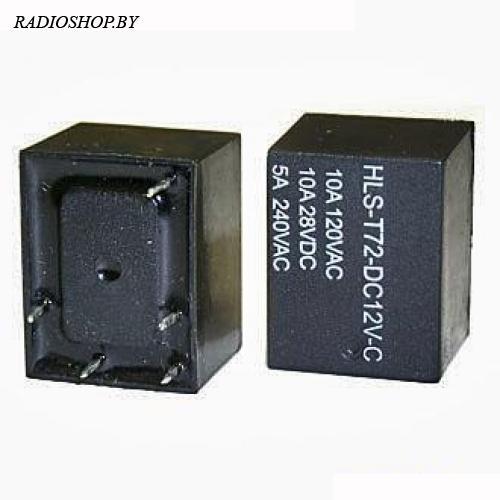 T72 12VDC (843) 10A реле электромагнитное