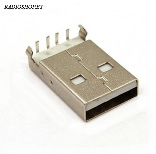 USBA-1M (Разъем USB type A для монтажа в отверстия.)