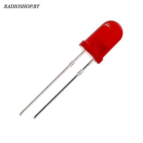 FYL-5013LRD  красный матовый,120мкд  5мм 1.9-2.2V