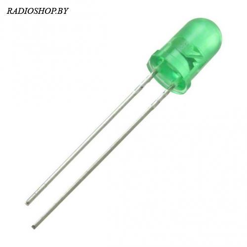 FYL-5013GD (5AYG4HD) зелёный матовый 20мкд 60град 5мм. 2.1V