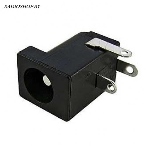 DC-005 2.0mm (под штырьковый разъем 5.5*2 mm) гнездо питания для навесного монтажа