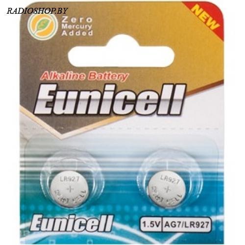 Батарейка AG7/LR927/SR927W/GP95A 1.5V Eunicell