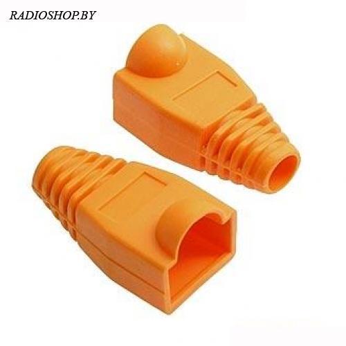 Кожух для RJ45 оранжевый