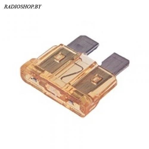 KLS5-270-005 5A 19мм золотой норма предохранитель автомобильный