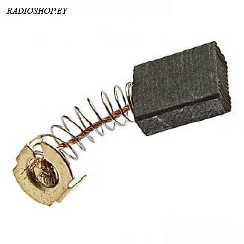 brush 6.4x13.5x16 spring щетка для электродвигателя