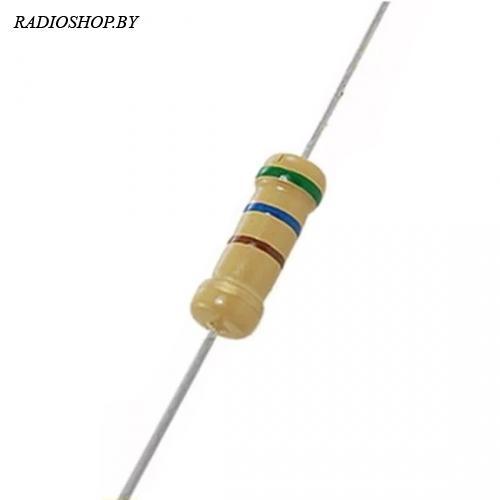 млт-1 100 кОм 5% (С2-33Н-1) резистор непроволочный 1Вт