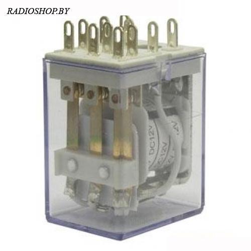 4453(18F)-3 (HH53P) 12VDC 5А реле электромагнитное (27x35x21mm)