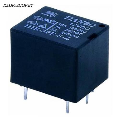 HJR-3FF-S-Z (HJR-3FF-12VDC-S-Z) реле электромагнитное 12VDC / 7A 240VAC