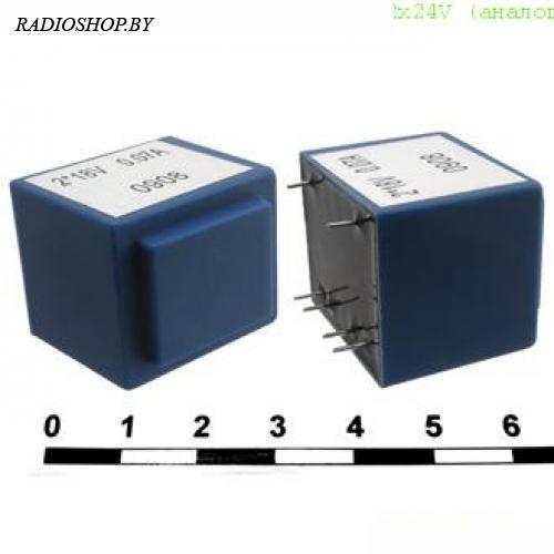 ТПК-2 (ТПГ-2) 220v to 2x24V 0,05А (аналог) 2,5W трансформатор
