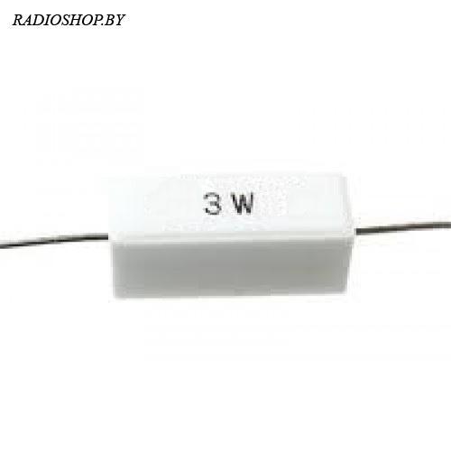 SQP-3w 0,1 Ом 5% резистор цементный аксиальный