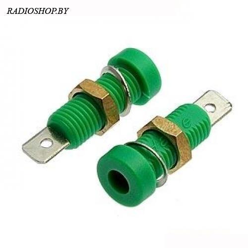 Z032 4mm Socket GREEN