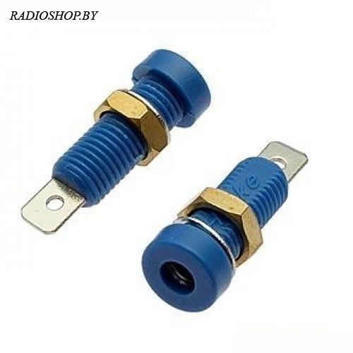 Z032 4mm Socket BLUE