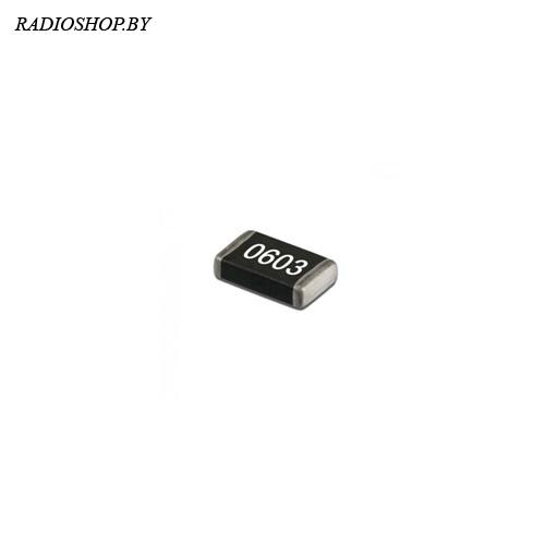 0603-124 ом 1% ЧИП-резистор точный 0,1Вт (100шт.)