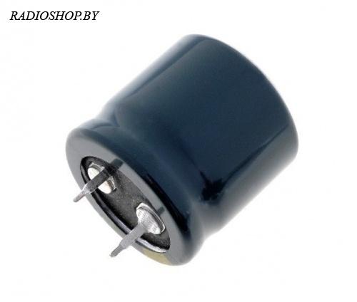 к50-35 10000м 35в 30x36 105C жёсткие выводы  электролитический радиальный полярный
