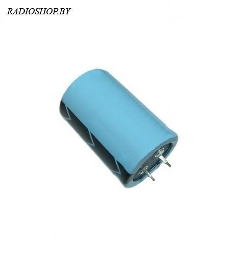 к50-35 47000м 16в 30х40 жёсткие выводы  электролитический радиальный полярный