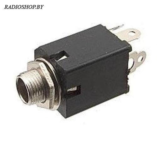 7-0077 mono 6.35 mm (N/C) аудио разъем