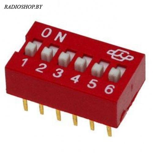 DS-06 (SWD1-6)   переключатель  ВДМ1-6