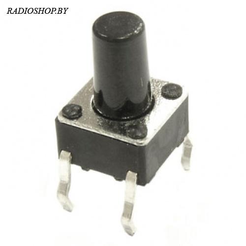 SWT-6х6;h=9,5мм,dip   кнопка тактовая