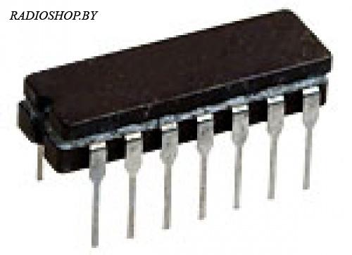 КМ555ЛА1  DIP-14