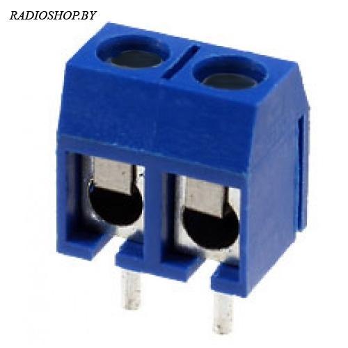 DG301-5.0-02P-12-00AH (GS002S-5.0-02P-12-01A(H), XY301V-A-2P, KF301-2P) шаг-5.00мм клеммник, винт-шлиц