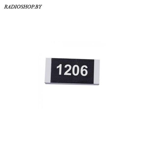 1206-1,37 ком 1% ЧИП-резистор точный 0,25Вт (100шт.)