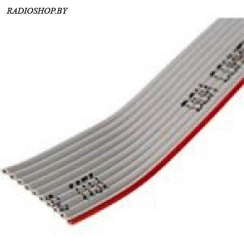 FRC-10 кабель плоский (шлейф) шаг 1,27 (1м)