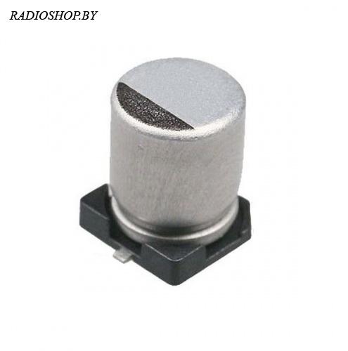 100м 6,3в 8х10 SMD электролитический полярный