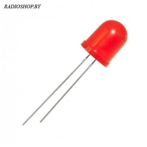 FYL-10003LRD  красный,матовый  10мм