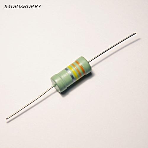 млт-1 43 Ом  10% резистор углеродистый 1Вт