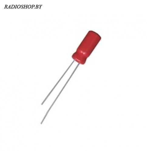 к50-35 10м 50в 5х11 KF 105C  электролитический радиальный полярный