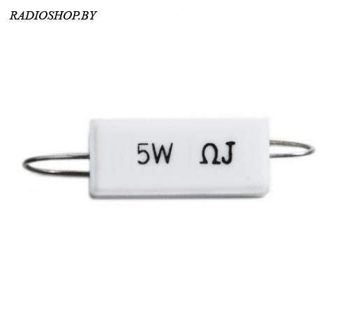 SQP-5w 18 Ом 5% резистор цементный аксиальный