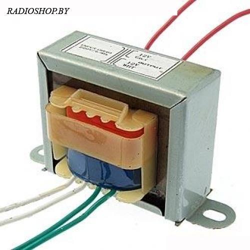 EI48*16 220v to 2x12v 5W трансформатор
