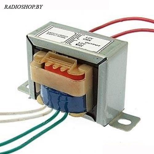 EI41*17 220v to 2x12v 3W трансформатор
