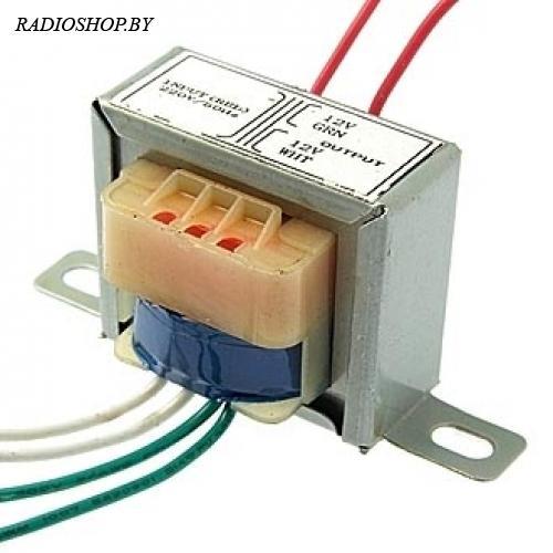 EI35*13 220v to 2x12v 1.5W трансформатор
