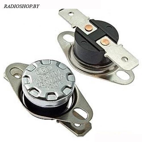 KSD-130 130*C 10A (B-1002) термостат нормально замкнутый
