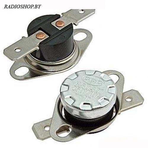 KSD301 75*C 10A NC термостат нормально замкнутый